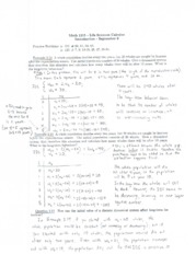 MATH 1215 - Lecture Notes September 9