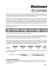 RIT2 Case Brief - AH1 - Crop Hedging.pdf