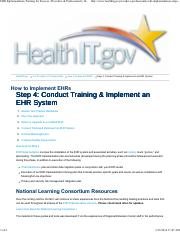 Step 4 - EHR Implementation - Training for Success _ Providers & Professionals _ HealthIT.pdf
