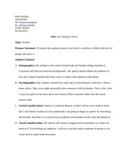 informative speech outlinei introductioni isnt finding Speech topic ideas general subjects popular themes topics based on students' own lives topics for how-to speeches topics for informative speeches.