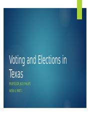 5) Voting & Elections Part 1 PP.pptx