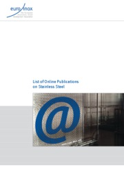 Online Publications on Stainless Steel (By Euro-Inox)