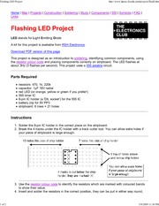 Flashing LED Project