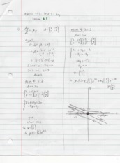 Differential Equations with Matrix Theory Test2B Solutions