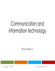 Lecture 12 - Communication and Information Technology.pdf