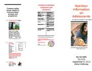 sci 220 week 4 brochure