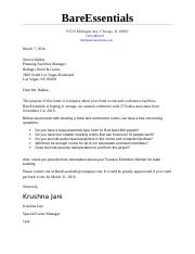 Individual Routine Business Letter Assignment.docx