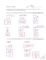 Math 125 Exam 1 Key On Intermediate Algebra