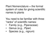 Plants and the Supernatural Part 1