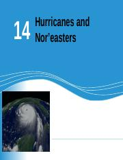 CHAPTER 14 - HURRICANES.ppt