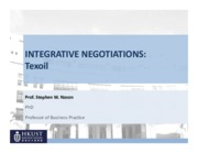05 integrative negotiations part 2 texoil