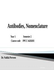 Diff. Antibodies, Nomenclature  16-05-2019.pptx