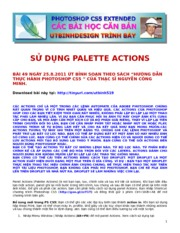 49.SU DUNG PALETTE ACTIONS
