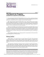 The Search for Property -  Institutional Investment in Real Estate^.pdf