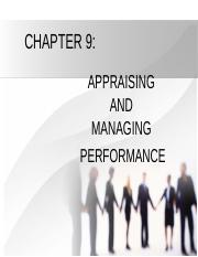APPRAISING AND MANAGING PERFORMANCE.ppt