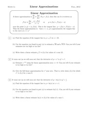 12-linear-approximation, featuring solutions