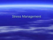 Stress Management MUSE-R 9-09