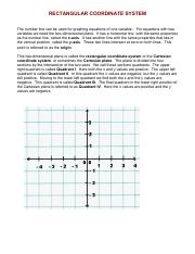 4_MA131_Unit_3_Rectangular_Coordinate_System