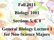 BIOL_1001_First_day_INTRO_Fall_2011