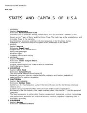 states and capitals of US of A.docx