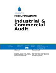 Modul 6-Industrial  Commercial Audit.doc