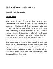 Module 5 Chapter 5 The Pretrial Period and Jails.pdf