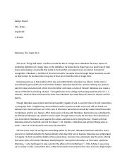 okonkwo a tragic hero english literature essay These heroes both were helped along by wise men, both had to prove  themselves as a  [tags: character analysis essays, literary analysis]  okonkwo  tragic hero essay slowly the men make their way up the hill with obierika in the  lead.
