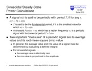 01_Sinusoidal Steady State Power