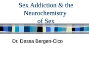Sex AddictionNeurochemistry of SexB