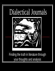 Dialectical Journal PPT(1)