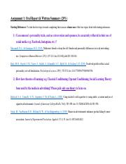 Assignment 1 Oral Report and Written Summary - Instructions.pdf