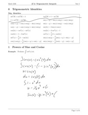calculus Section7.2