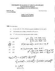 actuarial problem solving uiuc