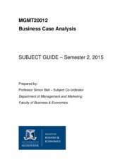 MGMT20012 Subject Guide 2015(1)