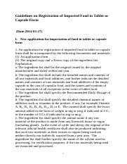 Guidelines_on_Registration_of_Imported_Food_in_Tablet_or_Capsule_Form(WORD).doc