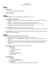 Exam #1 Notes Study Guide copy
