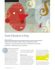 AssetAllocationIsKing