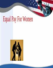 Power Point Equal Pay for WomenPresentation.pptx