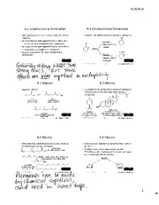 Chemistry 2OA3 Chapter 8 Introduction to Elimination with Notes