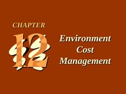 ch12 Environment Cost Management