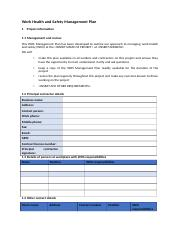 Work Health and Safety Management Plan template.docx