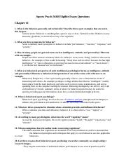 Sports Psych 3660 Eligible Exam Questions.docx