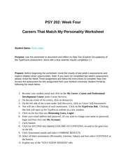 PSY 202 wk 4 assignment