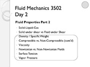 Lecture 2 on Fluid Mechanics