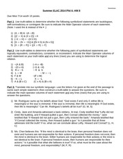 HW8 Phil 6 Summer 2014--Truth Tables
