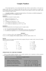 CA-HO-Complex-Numbers