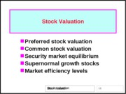 07-Stock-valuation-FIN6406