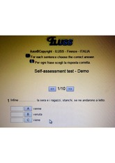 Advanced Italian Online Test