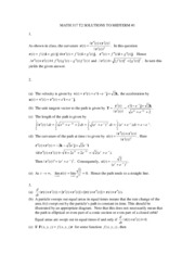 MATH 317 T2 SOLUTIONS TO MIDTERM