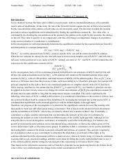 Chemical Equilibrium Finding a Constant Kc pdf - Yasmin